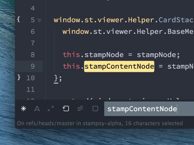 sublime text  MAC个人热键配置